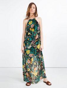 floral maxi forema zara 2016