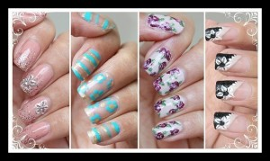 4 Εύκολα DIY floral σχέδια νυχιών για την Άνοιξη!