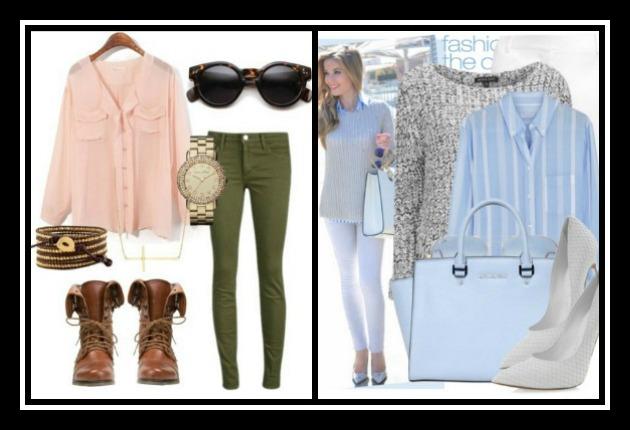 18 Outfits για την Άνοιξη σε ροζ και γαλάζιο χρώμα!