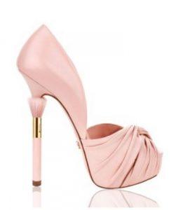 high heel pink