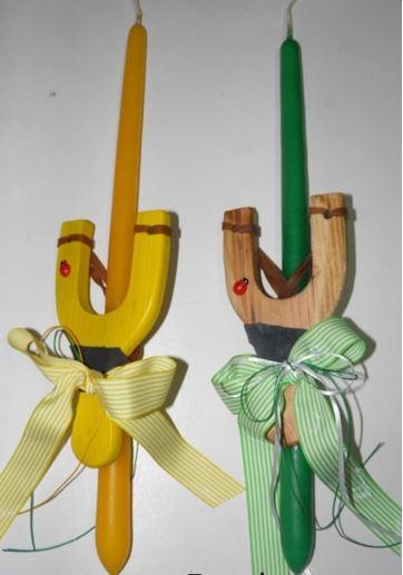 3457f73607d 20 Ιδέες για χειροποίητες λαμπάδες για αγόρια και κορίτσια! - Web ...