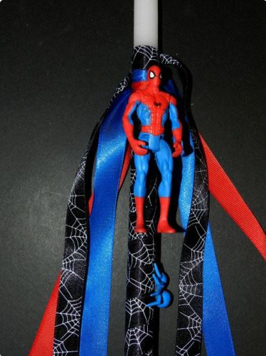 lampada spiderman