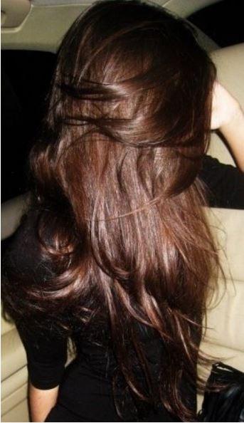 luscious brunette