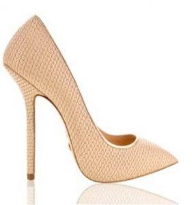 nude high heels