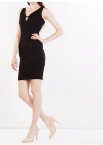 pique pencil dress