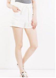 self-tie shorts