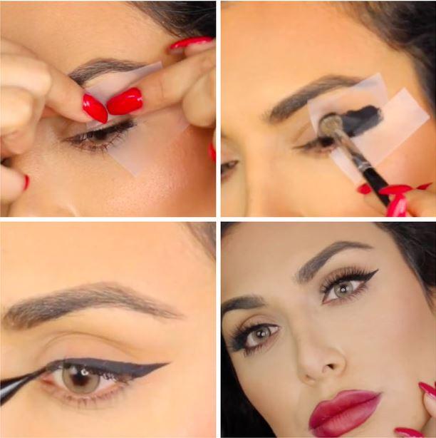 sharp eyeliner