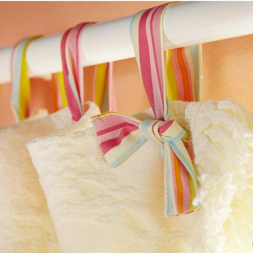 spring curtain decor
