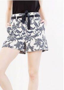 zakar floral shorts