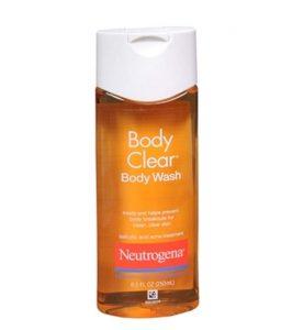 προϊόντα για ακμή στην πλάτη Neutrogena Body Clear Acne Body Wash with Glycerin & Salicylic