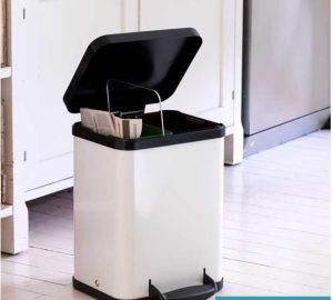 clean the rubbish bin
