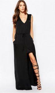 dress with drawstring waist