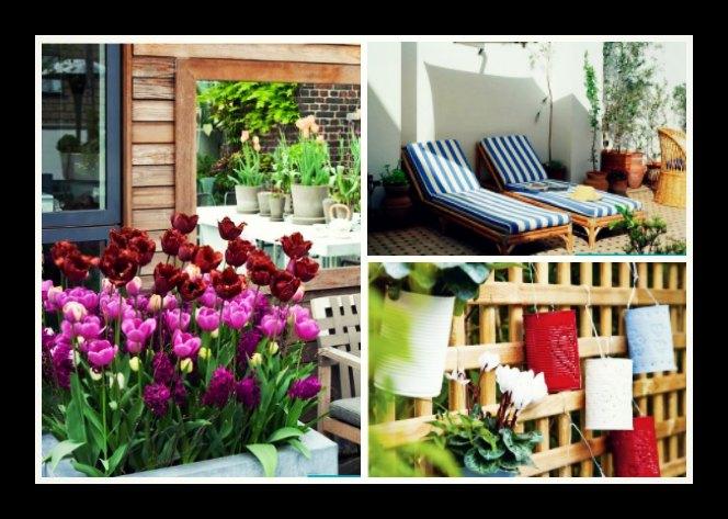 10 Ιδέες για να μετατρέψεις το μπαλκόνι σου σε κήπο!