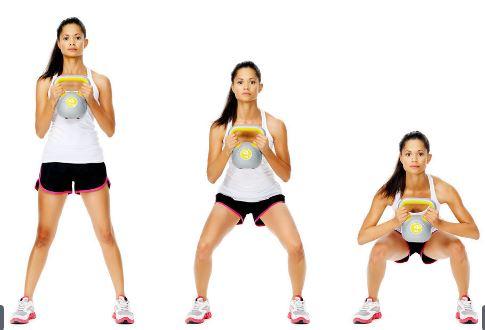 kettlebell squats