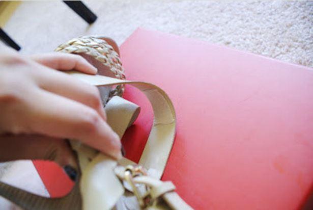 moleskin for tight straps