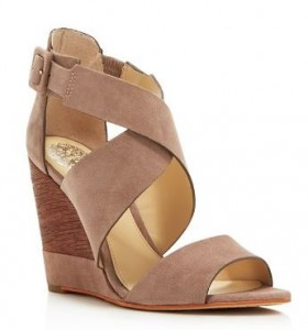 peep toe wedge