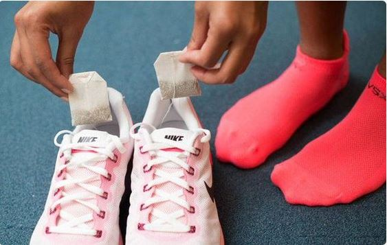 smelly shoes remedy