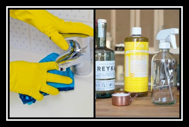 6 DIY φυσικά καθαριστικά σπιτιού που μπορείς να φτιάξεις!