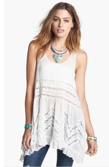 2315ffb3bd23 Boho ντύσιμο χωρίς δαντέλα δεν νοείται και όπως ήδη θα γνωρίζεις το λευκό  χρώμα είναι από τις καλύτερες επιλογές που μπορείς να κάνεις.