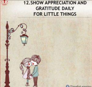 appreciation and gratitude
