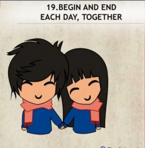 being together
