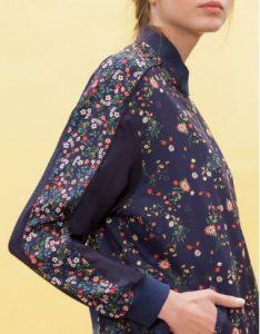 bomber jacket floral