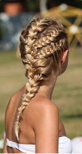 braided accent