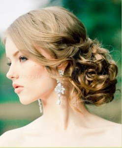 chignon for brides