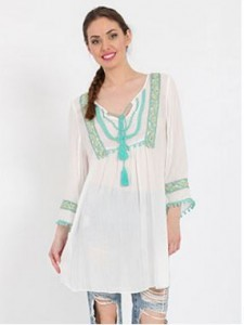 ethnic tunic