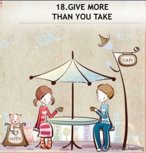 giving not taking