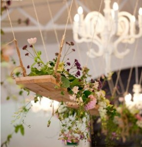 hanging flowers ideas