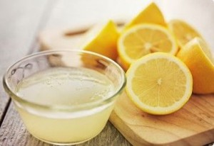 lemon juice on wrinkles