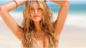 wavy hair beach