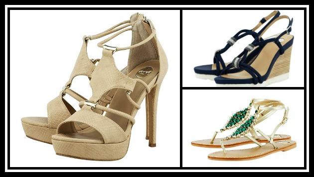 Γυναικεία παπούτσια EXE για το καλοκαίρι 2016!