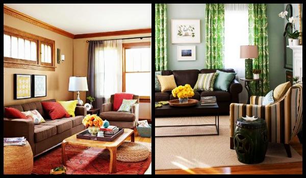 Χρώματα που μπορείς να συνδυάσεις με το καφέ στο σπίτι σου!