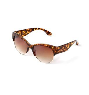 cat eye tortoiseshell shades