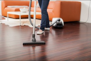 cleaning wooden floors