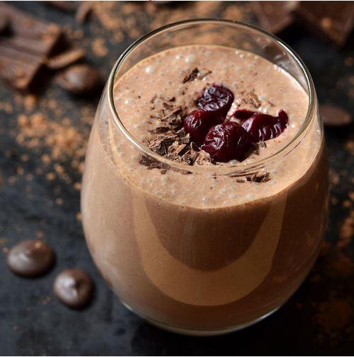 dark chocolate shake