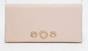 eyelet clutch bag
