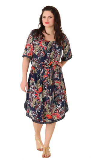 b77e0e9cc1e8 Φορέματα σε μεγάλα μεγέθη για το καλοκαίρι από 25€