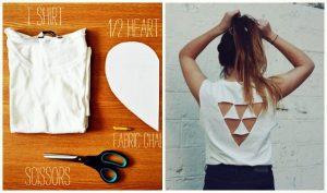 3 Υπέροχοι τρόποι για να μετατρέψεις ένα παλιό T-shirt!