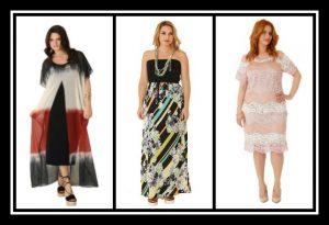 Φορέματα σε μεγάλα μεγέθη για το καλοκαίρι από 25€
