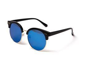 mirrored round shades