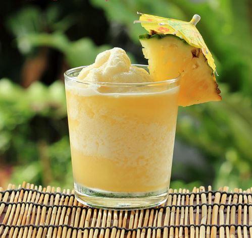 pineapple frappe