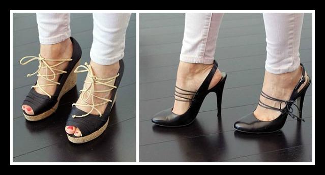 8 Τρόποι για να μετατρέψεις τα παλιά ψηλοτάκουνα παπούτσια σου!
