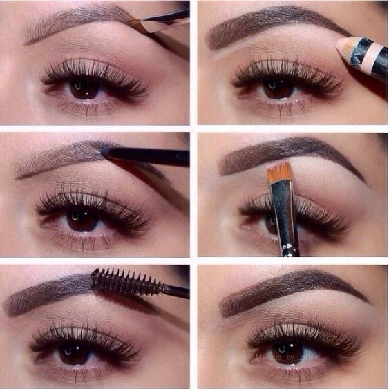 shaping eyebrows