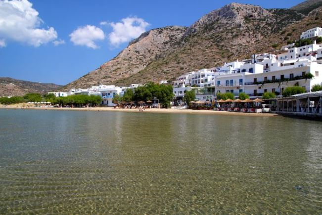 Kamares beach, Sifnos