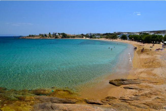 Logaras beach, Paros