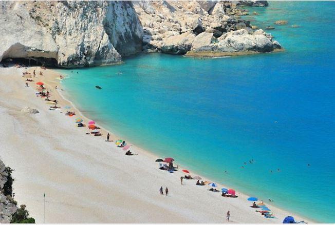 Myrtos beach, Kefallonia