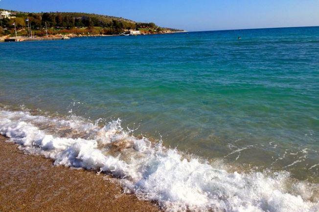 Vouliagmeni beach, Athens